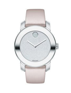 Bold Iconic Metal Blush Watch by Movado