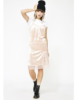 Crushin' Feelings Velvet Dress by Joa