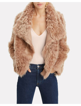 Reversible Shearling Coat by Yves Salomon