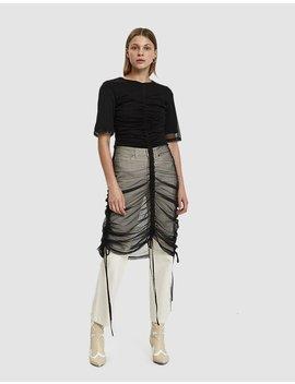 Ava Mesh T Shirt Dress by Need