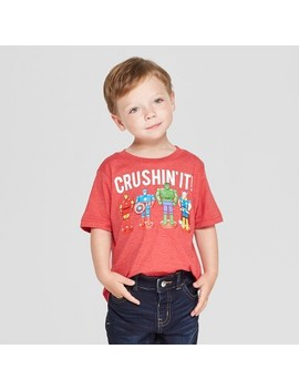 Toddler Boys' Marvel Short Sleeve T Shirts   Red by Marvel