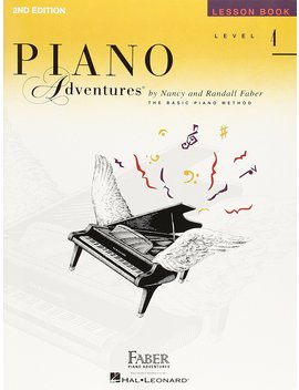 Piano Adventures Lesson Book, Level 4 by Faber Piano Adventures
