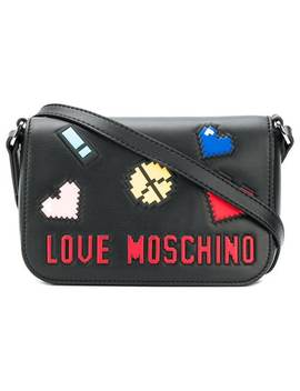 Logo Patch Mini Bag by Love Moschino