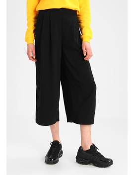 Soft Pleat Culottes   Trousers by Warehouse