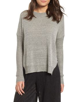 Split Hem Sweater by All In Favor