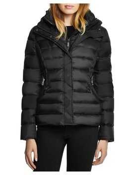 Miki Hooded Short Puffer Coat   100 Percents Exclusive by Dawn Levy