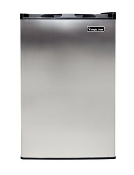 Magic Chef Mcuf3 S2 3.0 Cu. Ft. Upright Freezer In Stainless Steel by Magic Chef