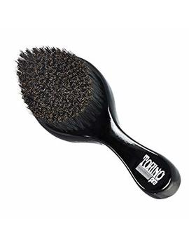 Torino Pro Curve Wave Brush By Brush King   #450   Medium Hard Curve Wave Brush   Made With Reinforced Boar & Nylon Bristles  True Texture Medium Hard 360 Waves Brushes by Torino Pro