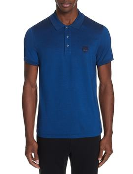 Fitted Tiger Crest Polo Shirt by Kenzo