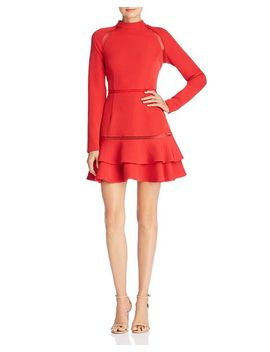 Long Sleeve Cutout Dress by Keepsake