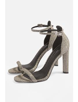 Robyn Two Part Glitter Heels by Topshop