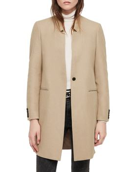 Lyla Wool Blend Coat by Allsaints