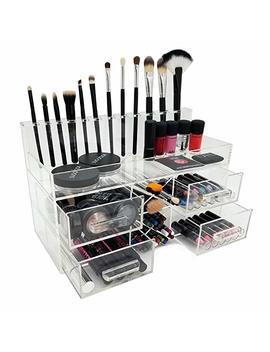 On Display Acqua Luxury Handmade Acrylic Cosmetic/Makeup Organizer by On Display