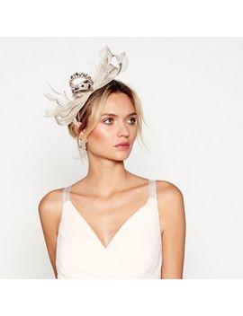 No. 1 Jenny Packham   Gold Embellished Bow Headband by No. 1 Jenny Packham
