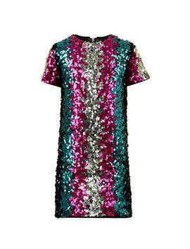 Children Girls Sequin Shift Dress by Dsquared2