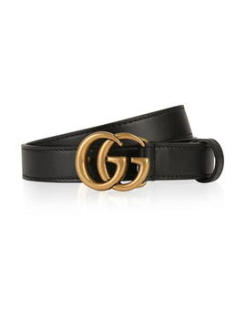 Marmont Gg Slim Belt by Gucci