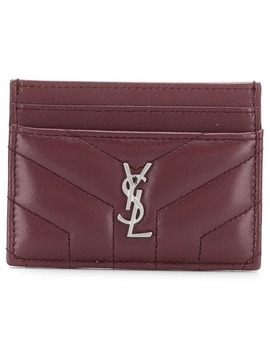 Quilted Cardholder by Saint Laurent