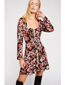Forever Printed Mini Dress by Free People