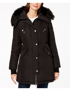 Faux Fur Trim Anorak by Bcb Generation