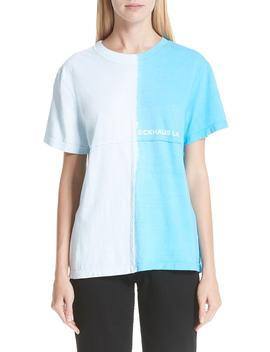 Dip Dyed Lapped Seam Tee by Eckhaus Latta