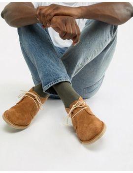Asos Design Desert Boots In Tan Suede by Asos Design