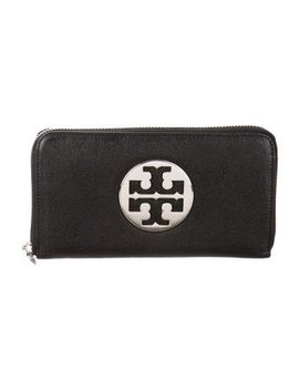 Tory Burch Leather Continental Wallet by Tory Burch