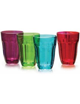 Circleware Overture 4 Piece 7.75 Ounce Juice Glass Set by Circleware