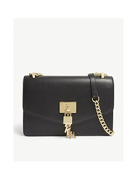 Elissa Leather Cross Body Bag by Dkny