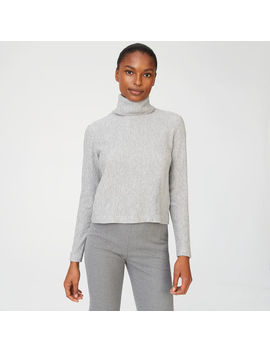 Meredy Ribbed Turtleneck by Club Monaco