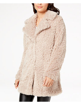 I.N.C. Faux Fur Teddy Coat, Created For Macy's by Inc International Concepts
