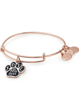 Love At First Sight Charm Bangle by Alex And Ani