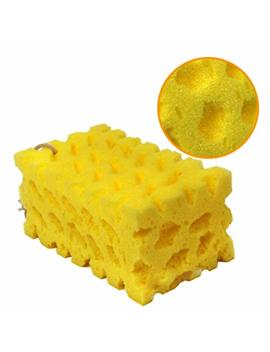 Heaven2017 Durable Car Wash Honeycomb Sponge Truck Washing Cleaning Tools Super Absorbent Sponge (Yellow) by Heaven2017