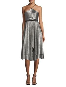 Dixon Halterneck Dress by Likely