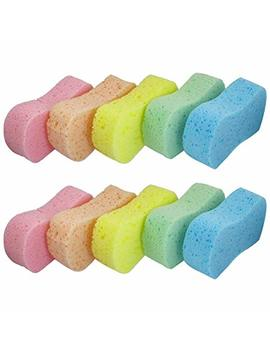 Lantee Large Sponges   Car Cleaning Supplies   10 Pcs High Foam Cleaning Washing Sponge Pad For Car by Lantee