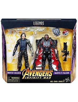 Marvel Legends Avengers Infinity War   Winter Soldier Falcon 2 Pack by Marvel