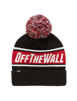 Off The Wall Pom Beanie by Vans