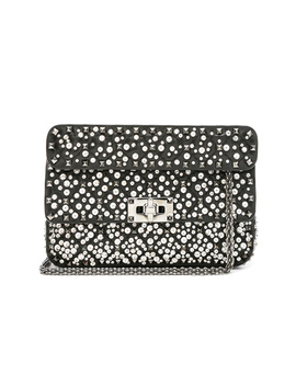 Small Embellished Spike It Shoulder Bag by Valentino