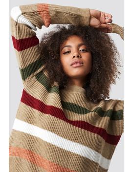 Multi Stripe Knitted Jumper by Trendyol