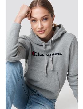 Hooded Sweatshirt by Champion