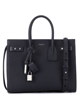 Borsa Small Sac De Jour Souple In Pelle by Saint Laurent