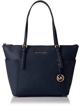 Michael Kors Women's Jet Set Item Bag – Blue by Amazon