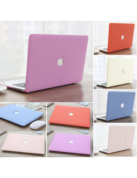 "Cream Series Rubberized Matte Hard Case For Mac Book Air Pro 11""13"" 15""+Touch Bar by Lykoko"