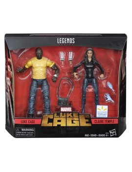 Marvel Legends Series 6 Inch Luke Cage & Claire Temple 2 Pack by Marvel