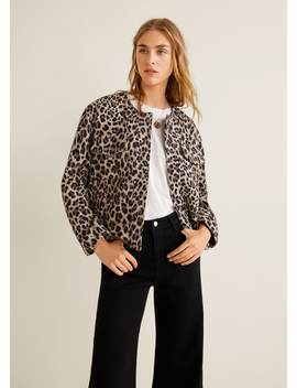 Leopard Jacket by Mango
