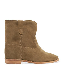 Crisi Suede Ankle Boots by Isabel Marant