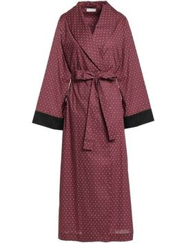 Printed Cotton Robe by Yolke