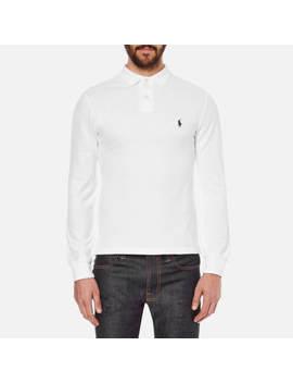 Ralph Lauren Long Sleeve Polo Various Colours Brand New Men's Custom Fit by Ebay Seller