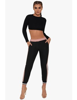 Playing It Right Track Pants by Honeybum