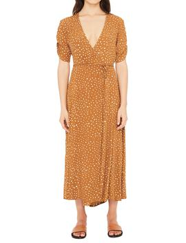 Chiara Dot Print Wrap Dress by Faithfull The Brand