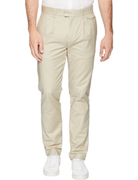 Military Sateen Pressed Trouser Pants by Calvin Klein